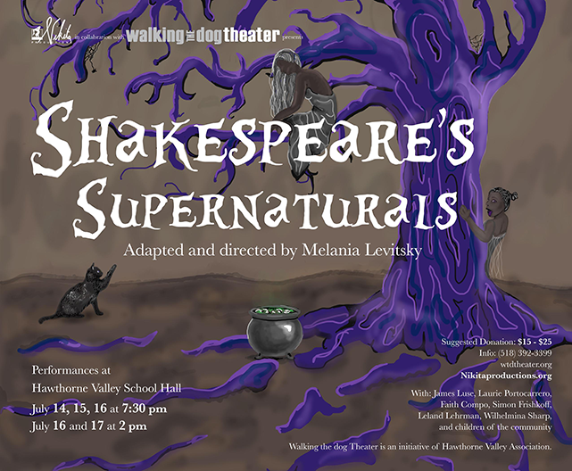 Shakespeare's Supernaturals Poster